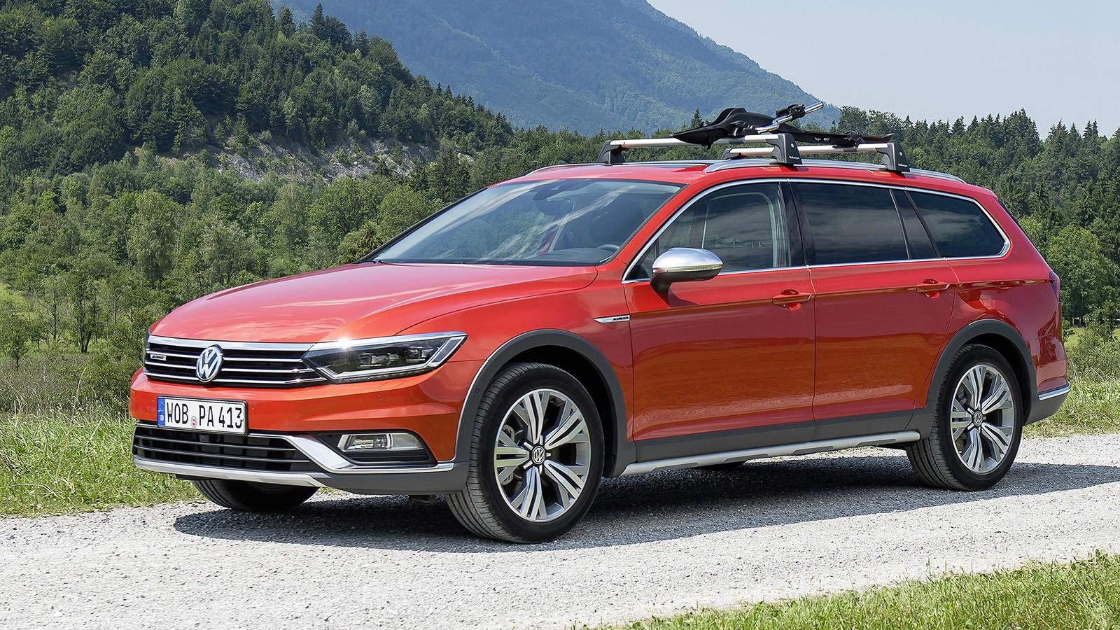 На фото: VW Passat Alltrack