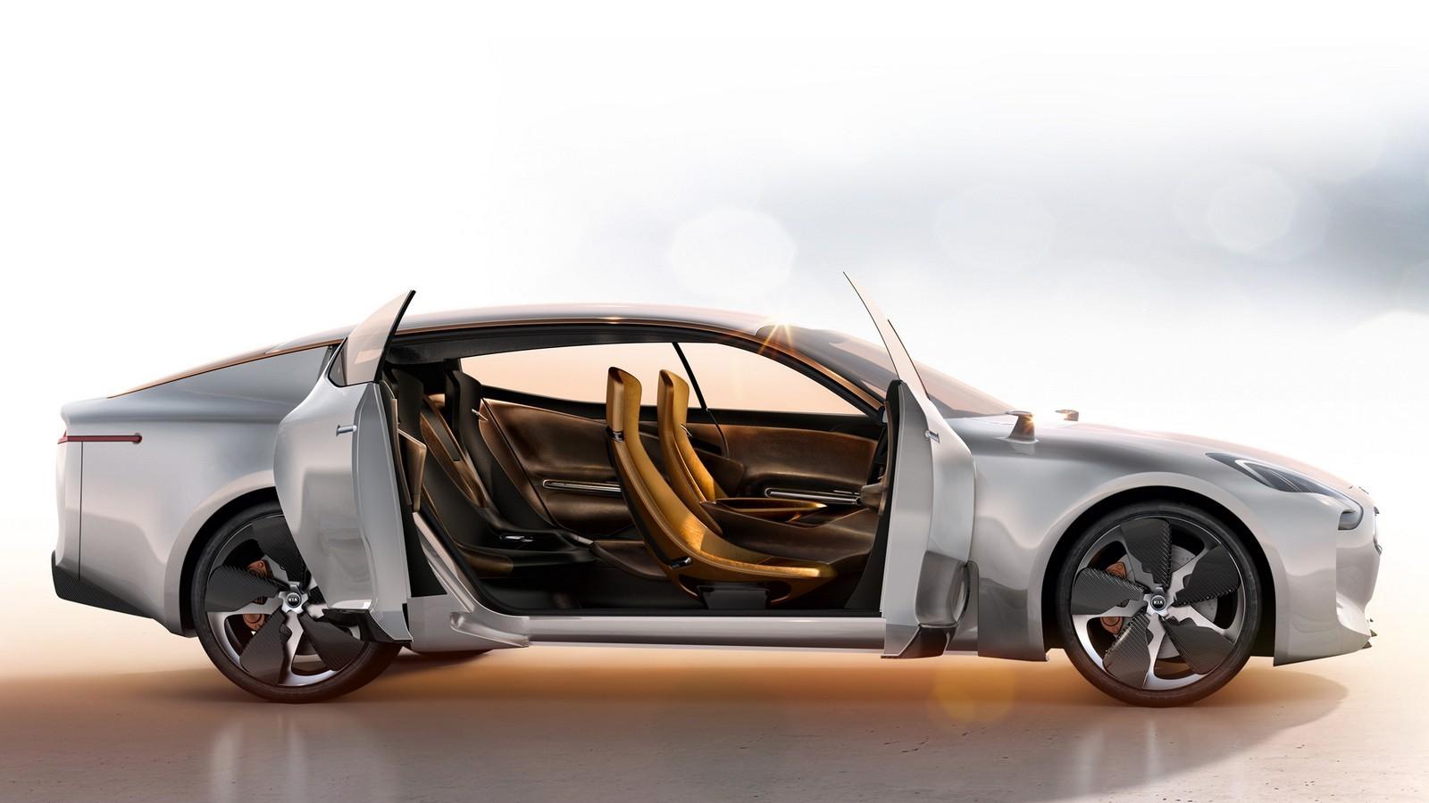Концепт Kia GT 2011 года