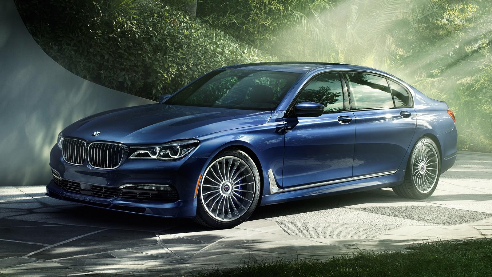 На фото: BMW Alpina B7 xDrive. V8 объёмом 4.4 литра выдаёт 608 л.с.