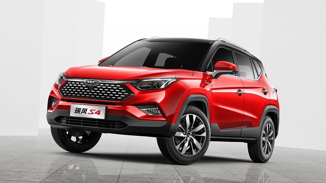 JAC S4 начнут импортировать из Китая в Россию в 2019 году