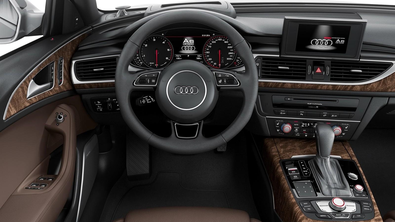 На фото: интерьер Audi A6 Allroad
