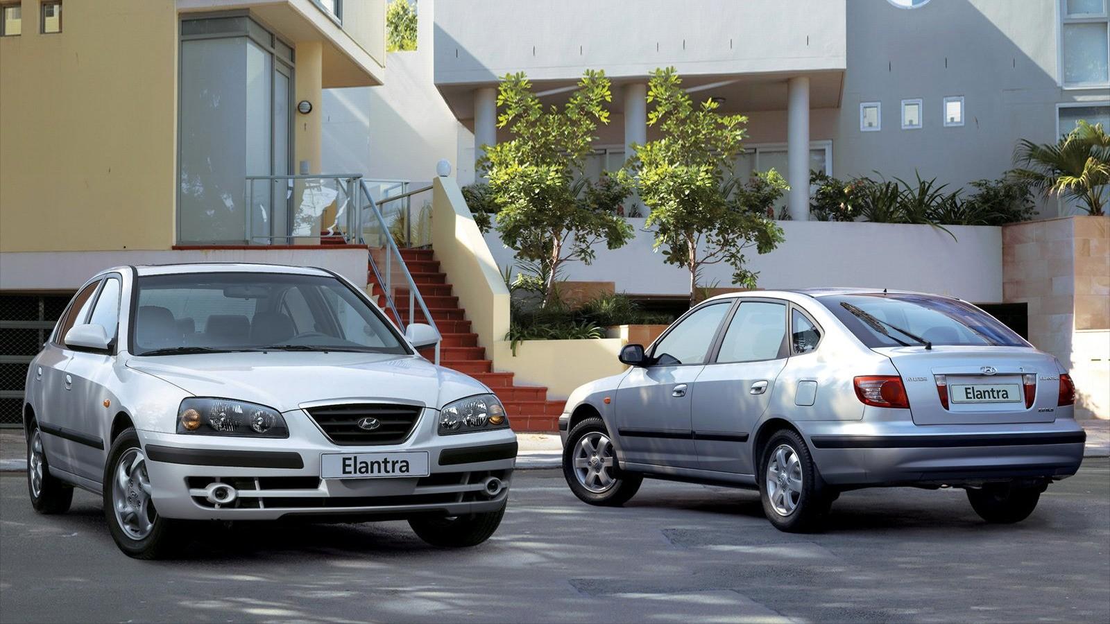 Hyundai Elantra (XD) '2003–07