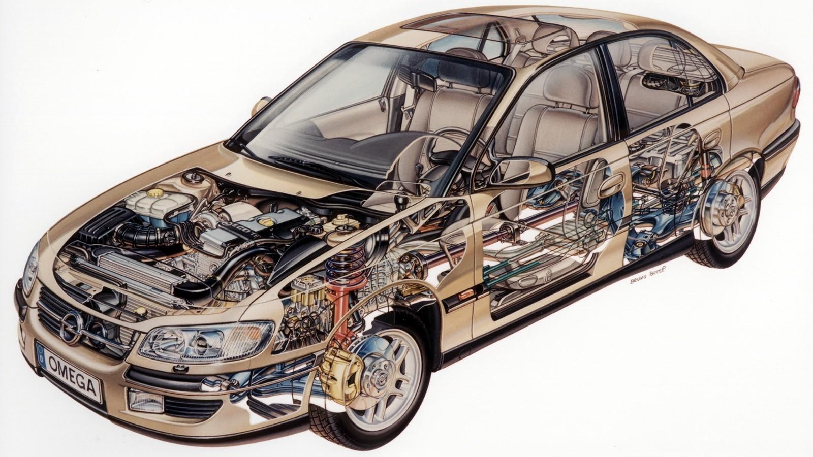 Opel Omega (B) '1994–99