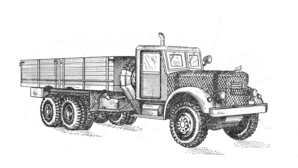 ЯАЗ 214 с комплектом средств утепления