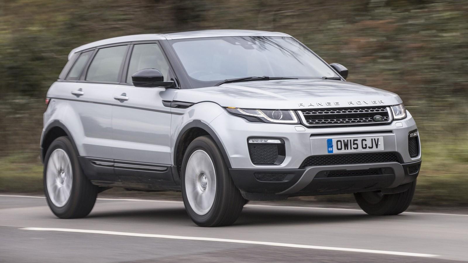 На фото: Land Rover Range Rover Evoque