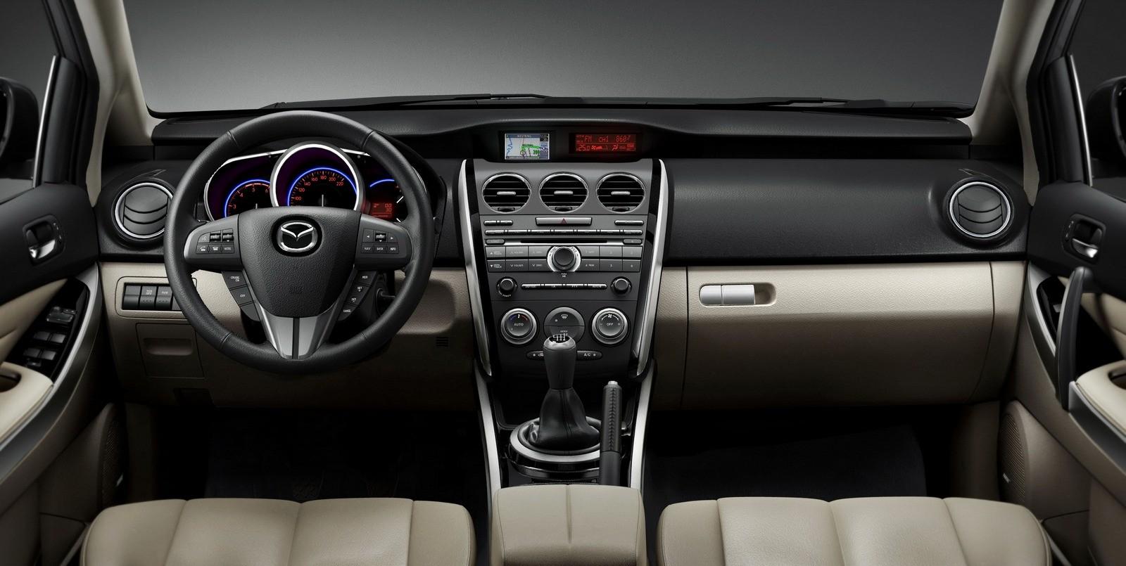 Торпедо Mazda CX-7 '2009–12