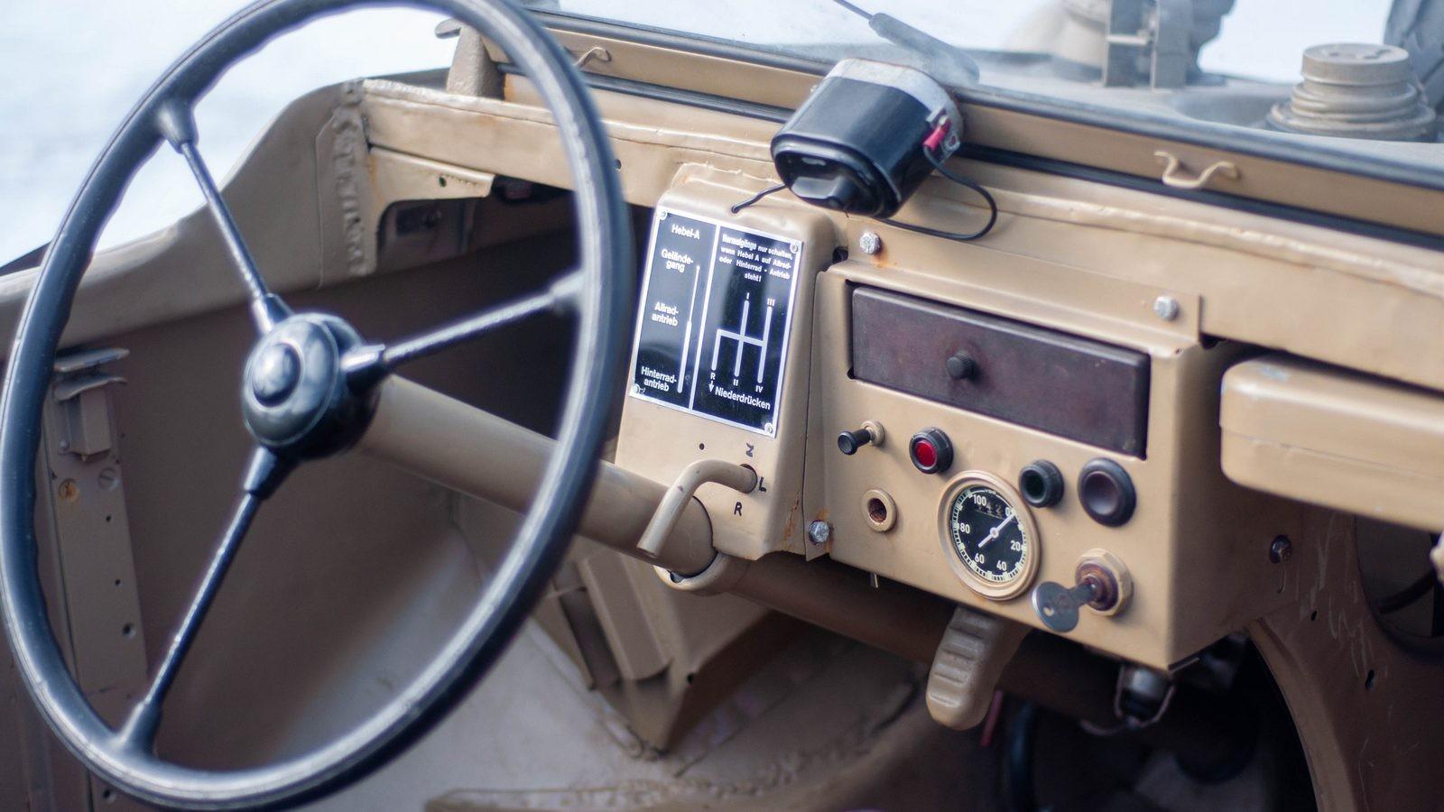 Volkswagen Type 166 Schwimmwagen руль