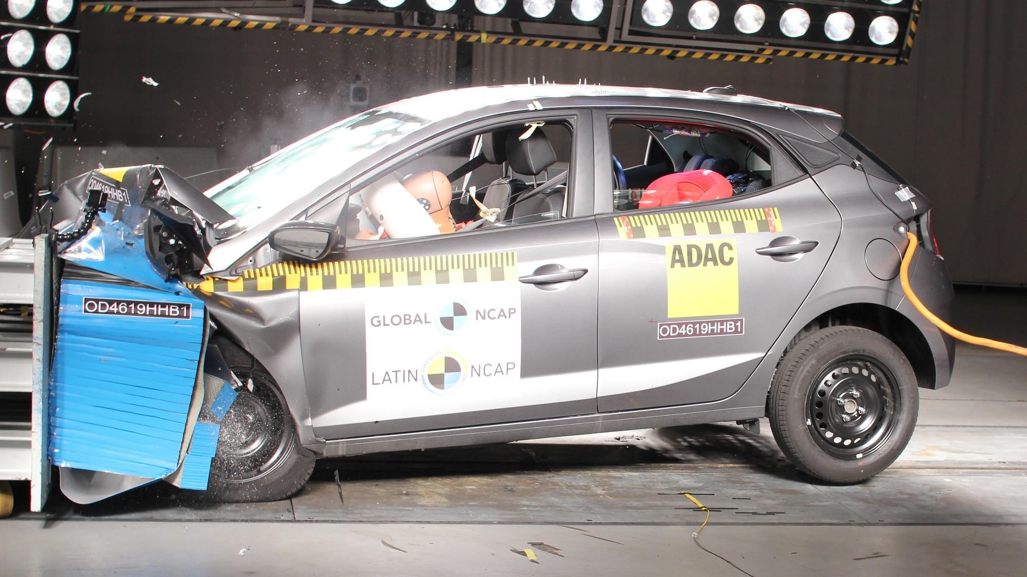 Latin NCAP лишил звёзд Hyundai HB20 после повторного бокового краш-теста