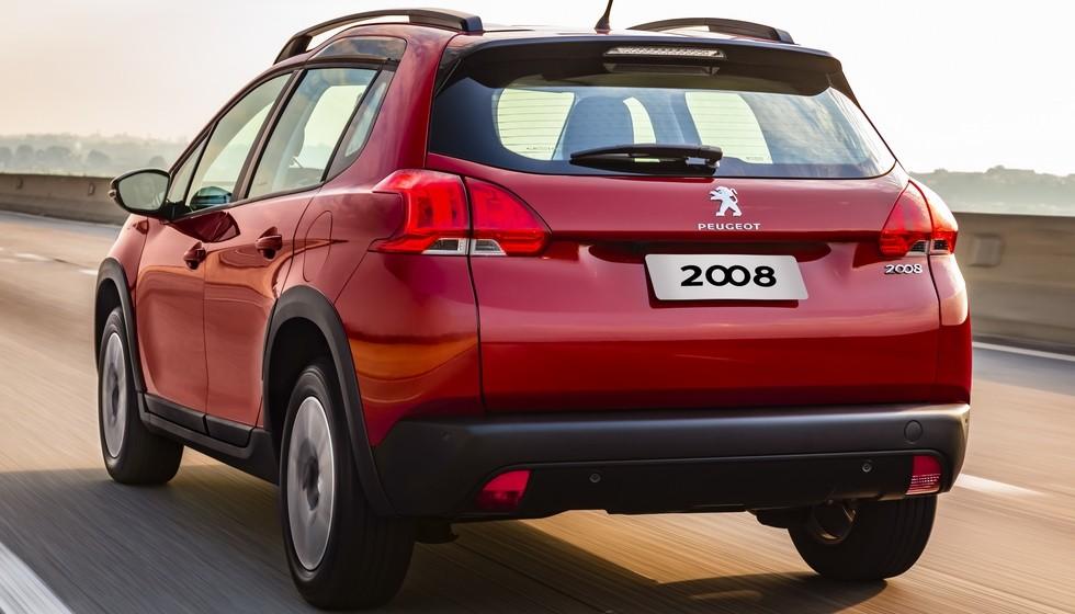 Обновленный Peugeot 2008 для Южной Америки