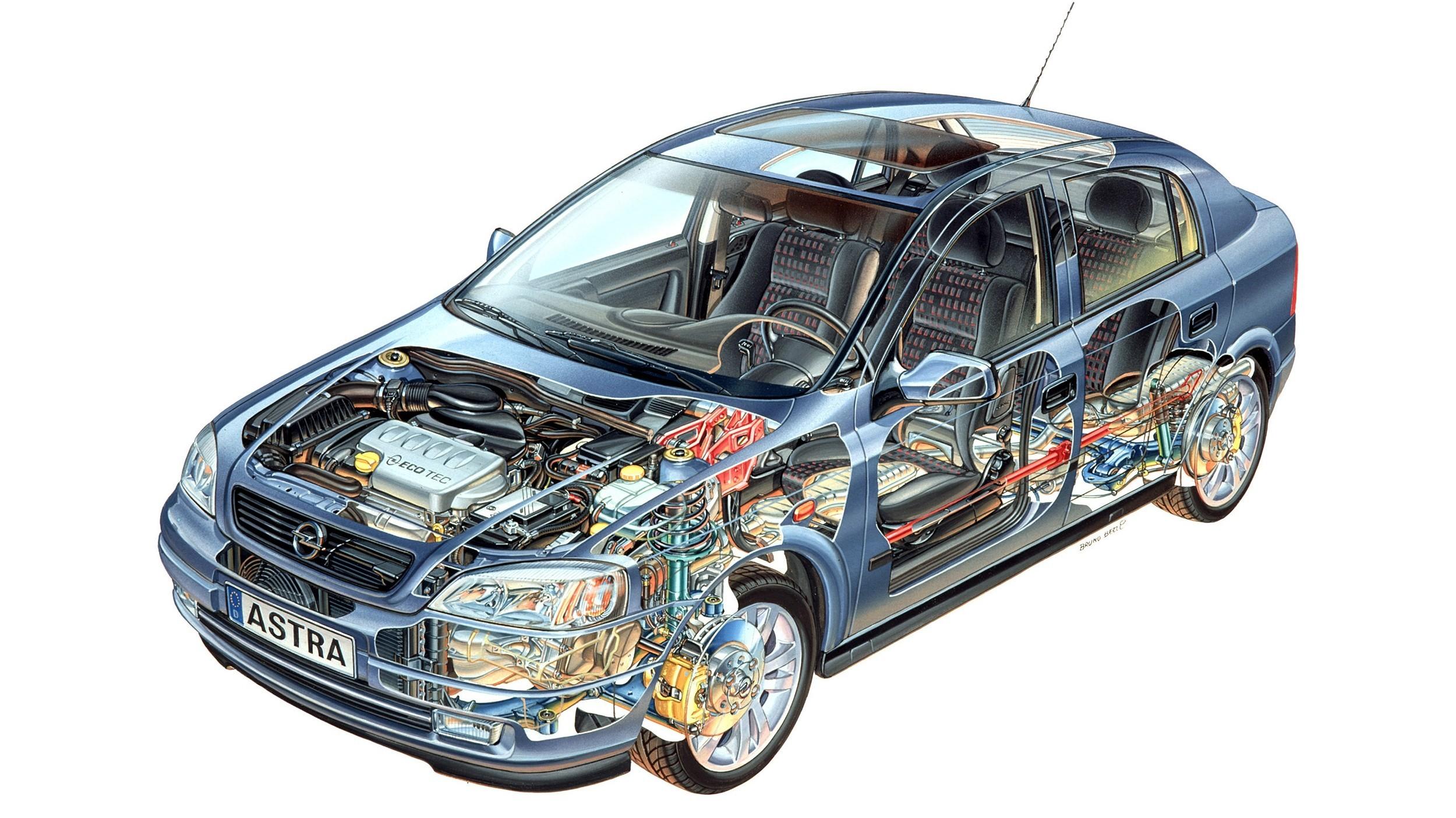 Opel Astra 5-door (G) '1998–2004