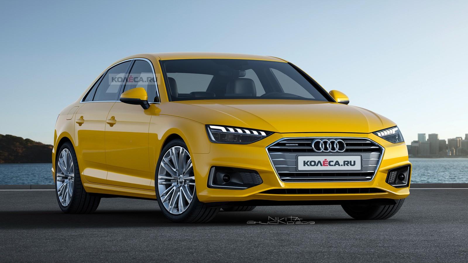 Audi A4 rest front2