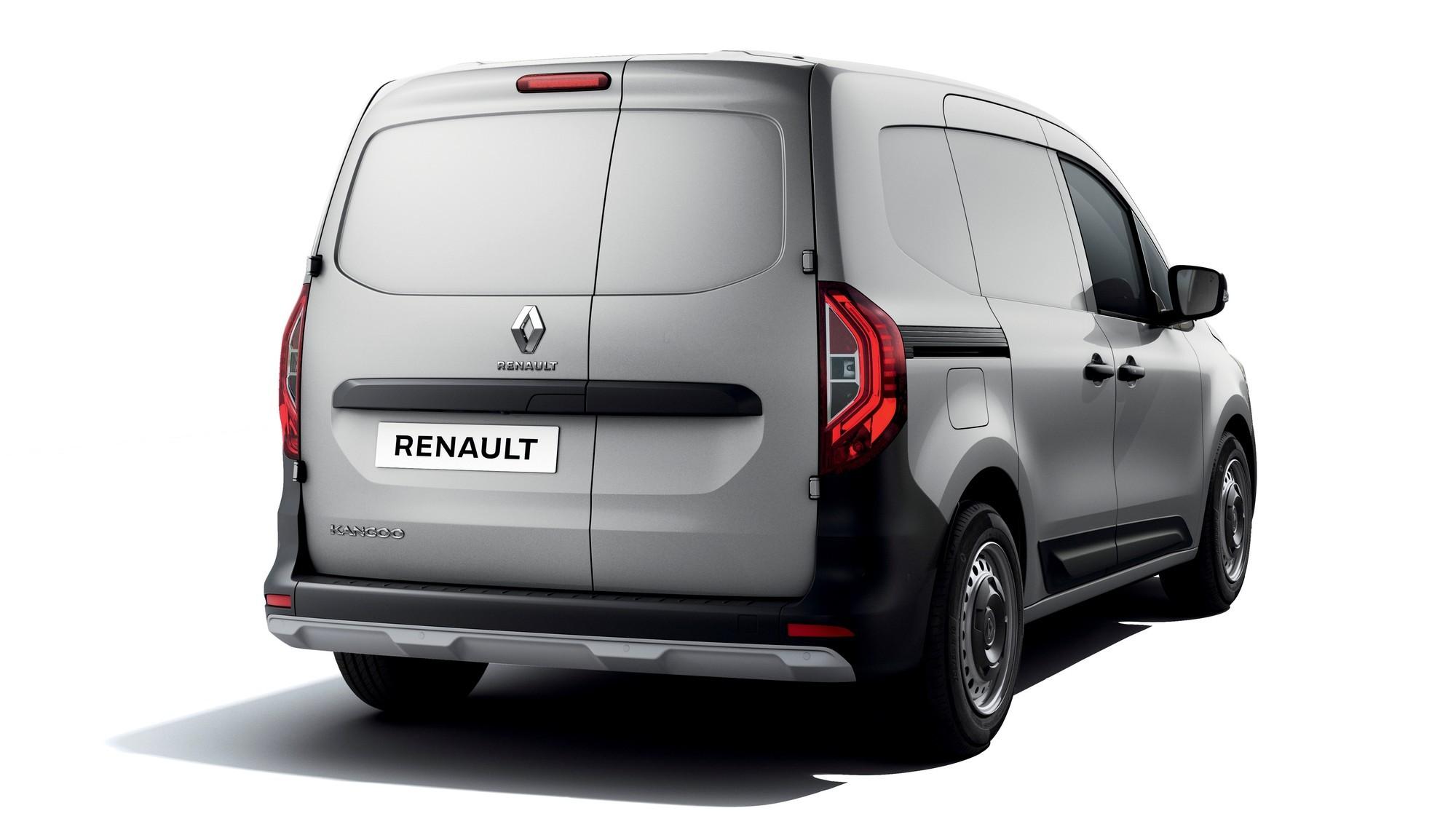 Подробности о новом Renault Kangoo: гигантская «дыра» сбоку и лестница в кузове