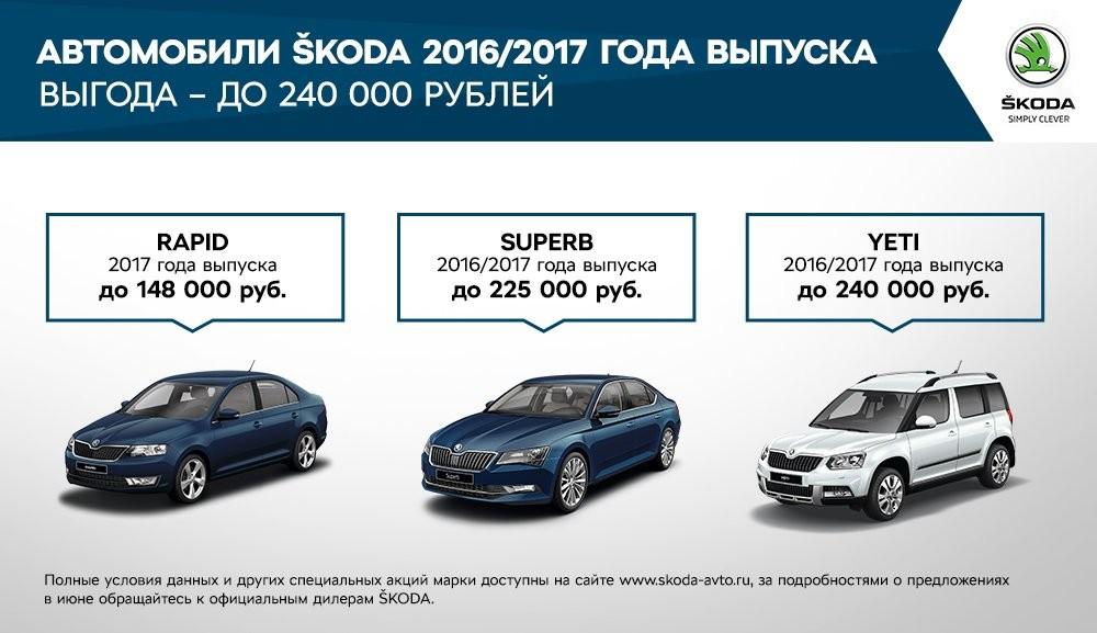 Специальные предложения для клиентов SKODA в июне (1)