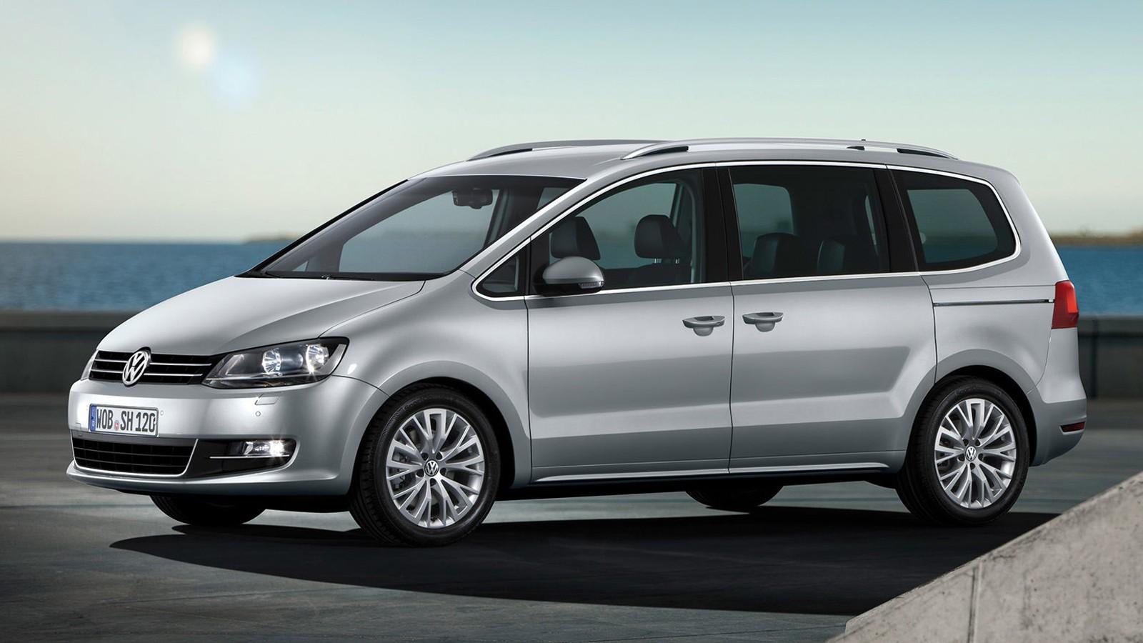 На фото: Volkswagen Sharan