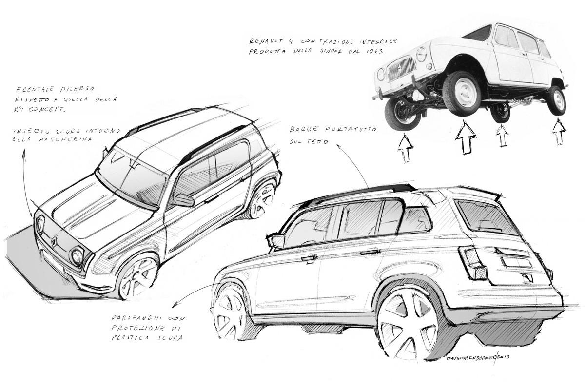 Renault 4 возродится в виде электрического кроссовера. Увы, недешёвого