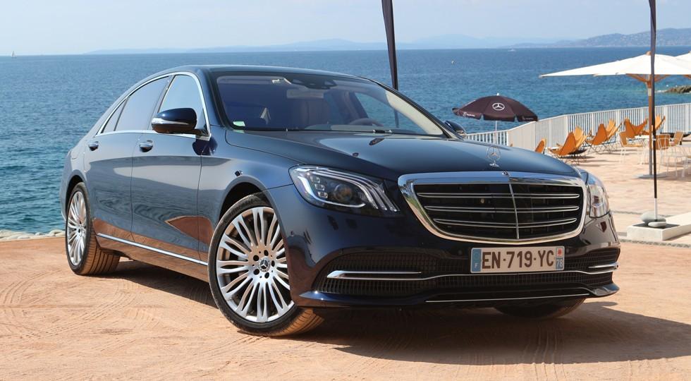 На фото: Mercedes-Benz S 560 4matic