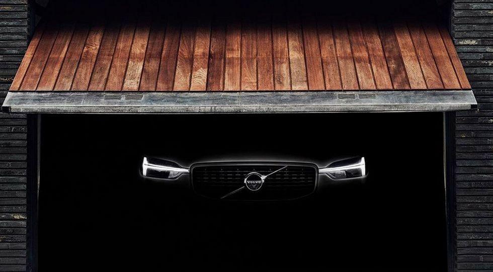Один из предыдущих тизеров нового Volvo XC60