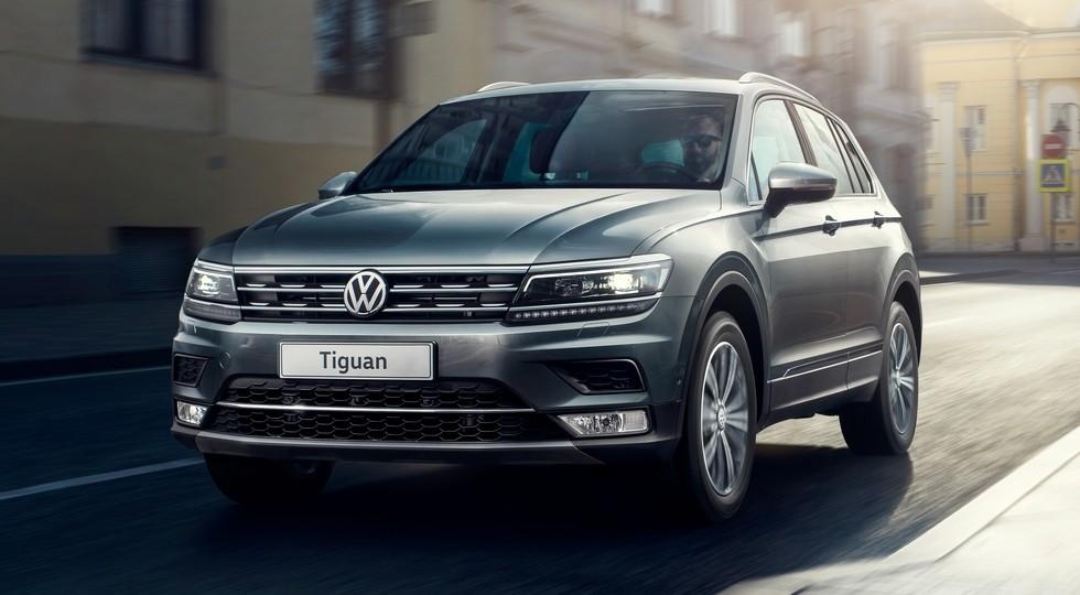 На фото: Volkswagen Tiguan второго поколения