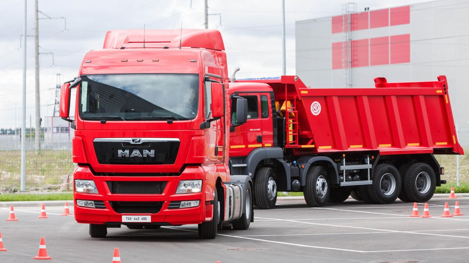 MAN-TGX-and-TGS-Trucks