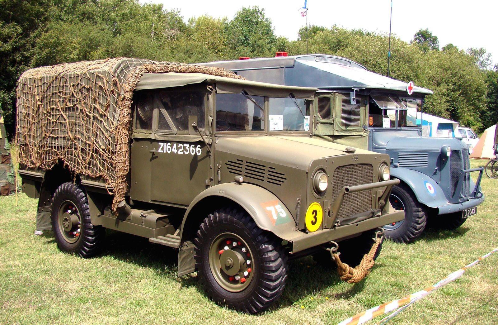 Crossley, Foden, Standard и другие: неизвестные британские военные автомобили Второй мировой