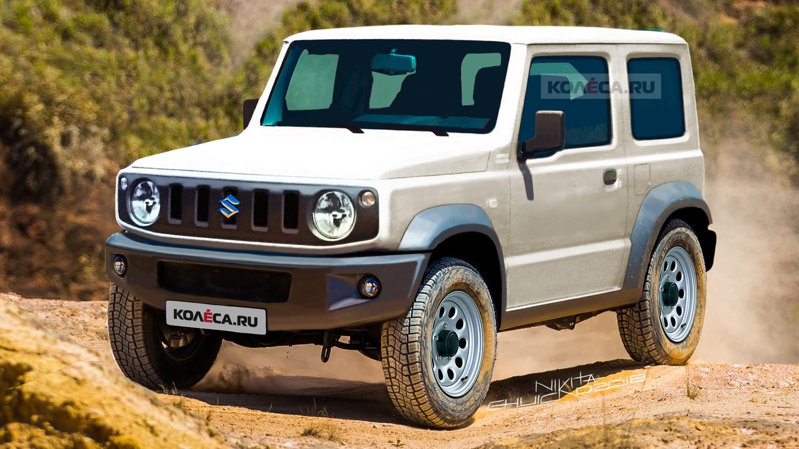 Suzuki Jimny front2