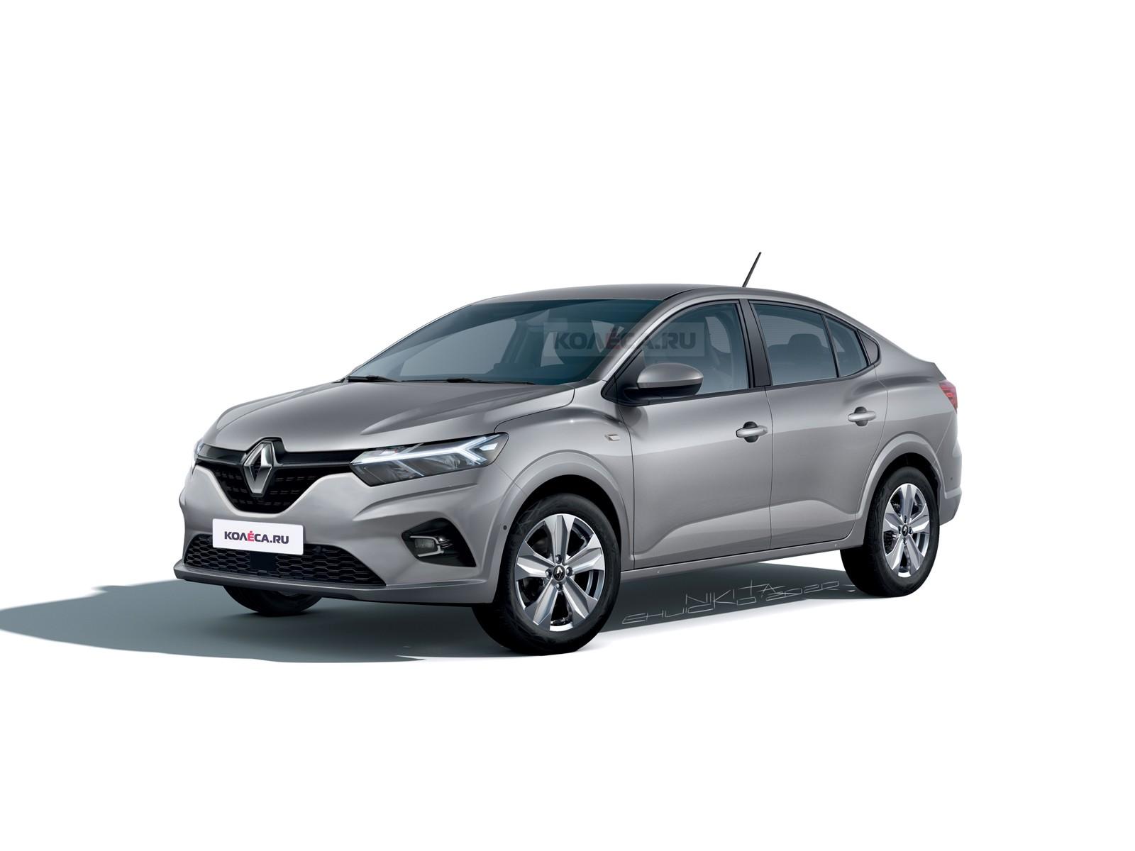 Renault Logan следующего поколения: новые изображения
