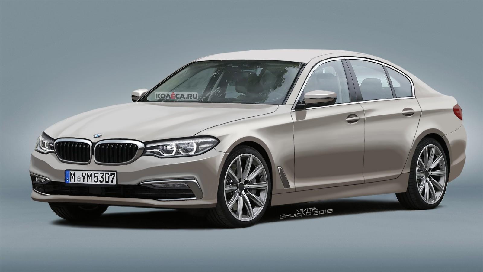 BMW 5er front