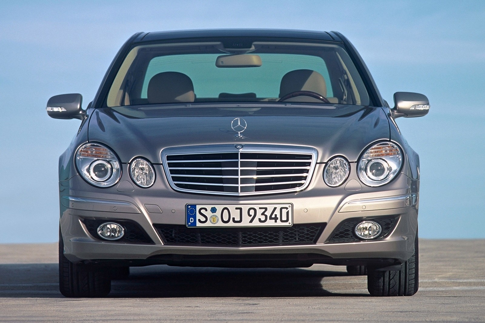 Mercedes-Benz E 350 Worldwide (W211) '2006–09