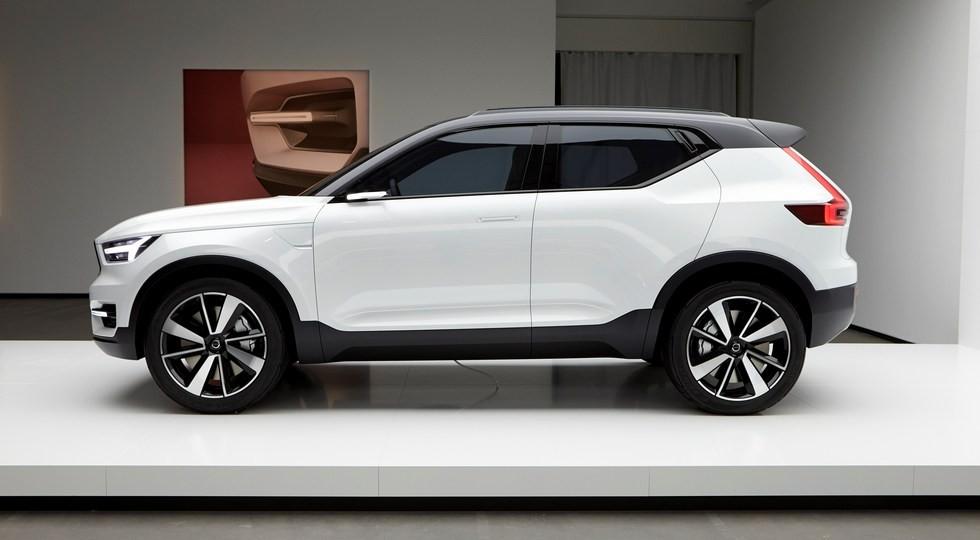 На фото: концепт Volvo 40.1. Дизайн XC40 выполнен по мотивам этого прототипа