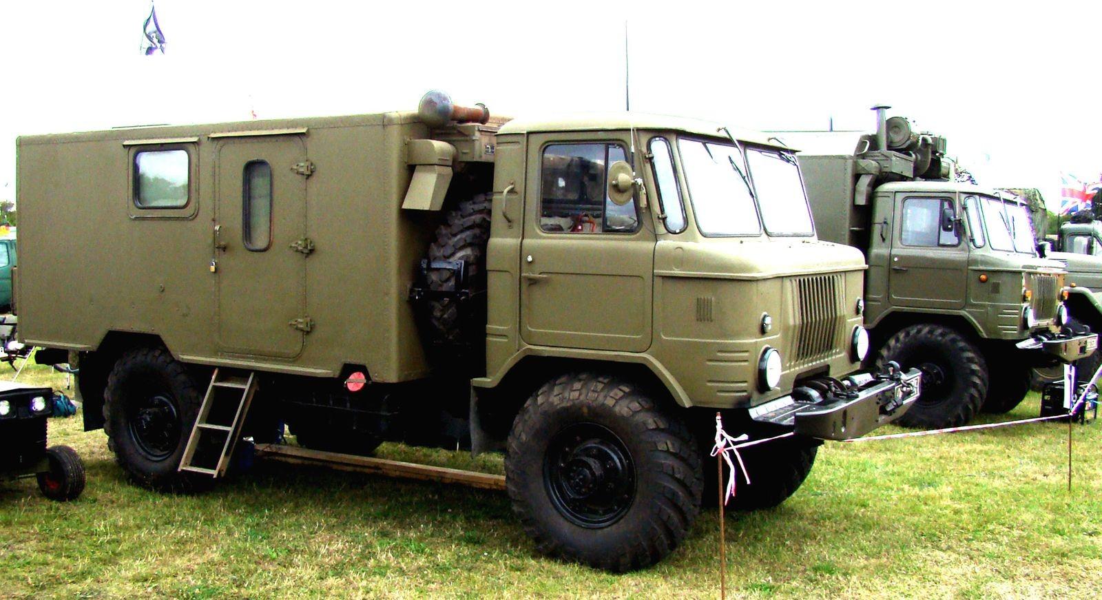 Родословная «Шишиги»: 40 лет разработки и развития армейского грузовика ГАЗ-66