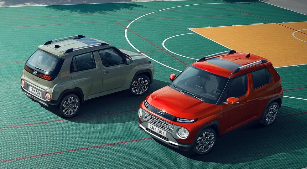 Hyundai полностью раскрыла паркетник Casper: бюджетный, но не бедный