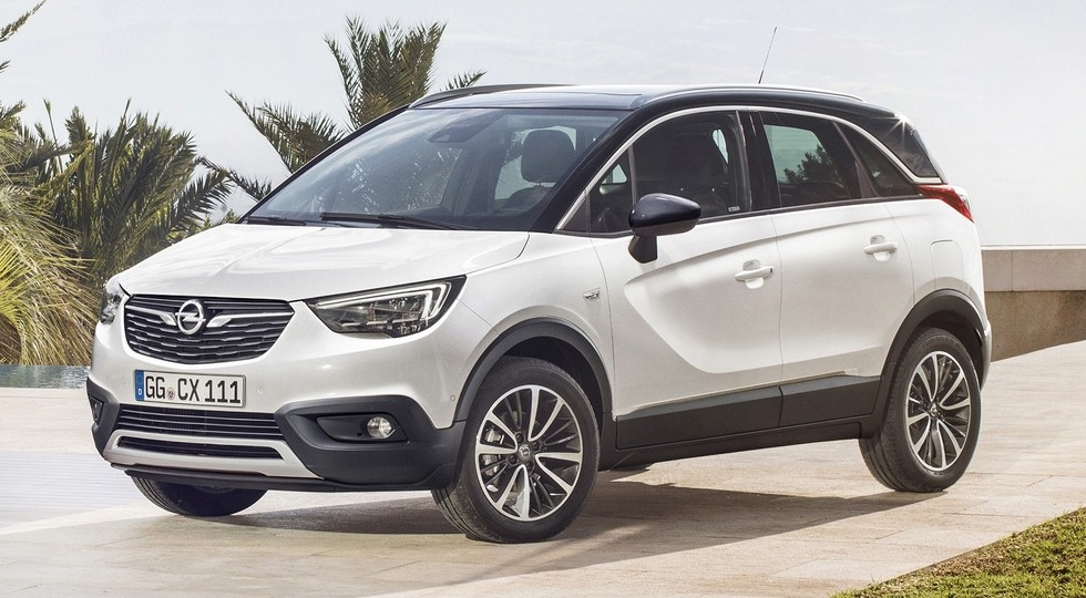 На фото: кроссовер Opel Crossland X. Модель построена на платформе PSA Group