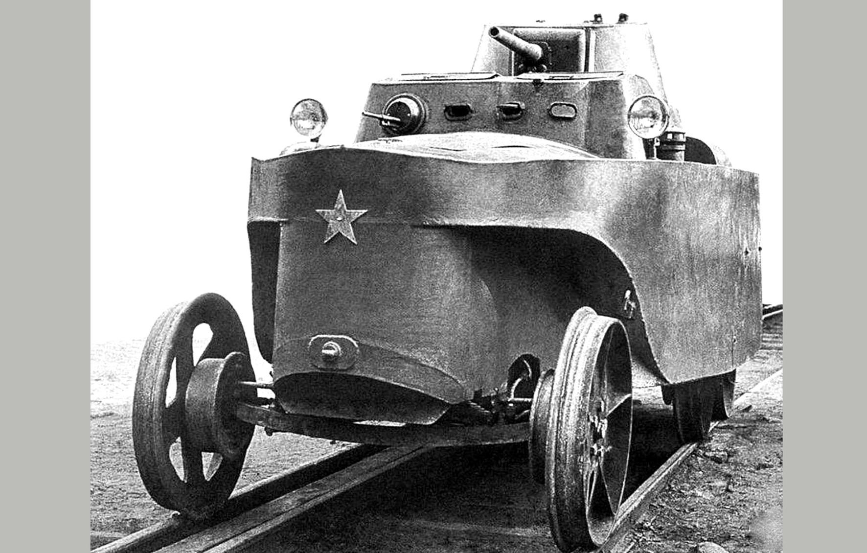 бронеавтодрезина БАД-2
