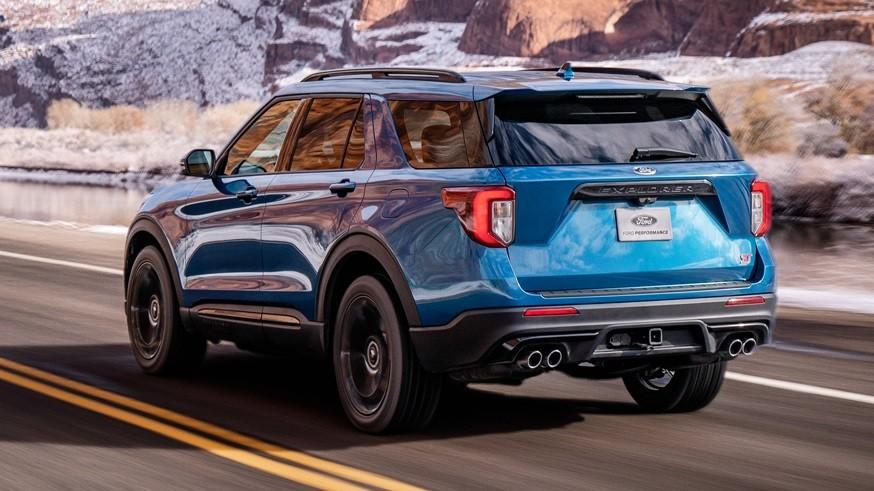 У «посвежевшего» Ford Explorer ST может быть задний привод, а за полный придётся доплатить