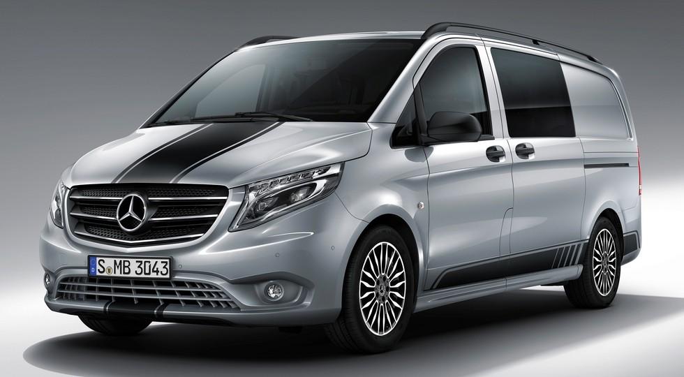 Mercedes-Benz Vans: Das Angebot des Mercedes-Benz Vito wird erweitert: Der sportlich-exklusive Vito Line SPORT kommt!