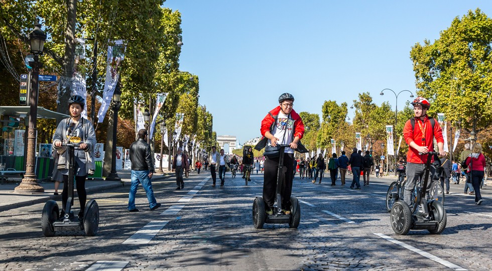 Segways — Journee Sans Voiture, Paris 2015