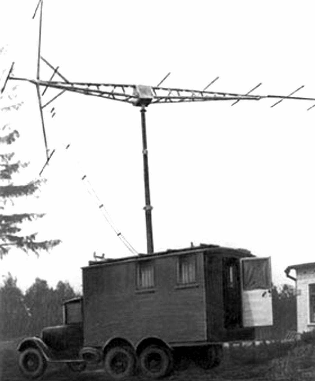 РУС-2 «Редут-42» в фургоне на шасси ЗИС-6