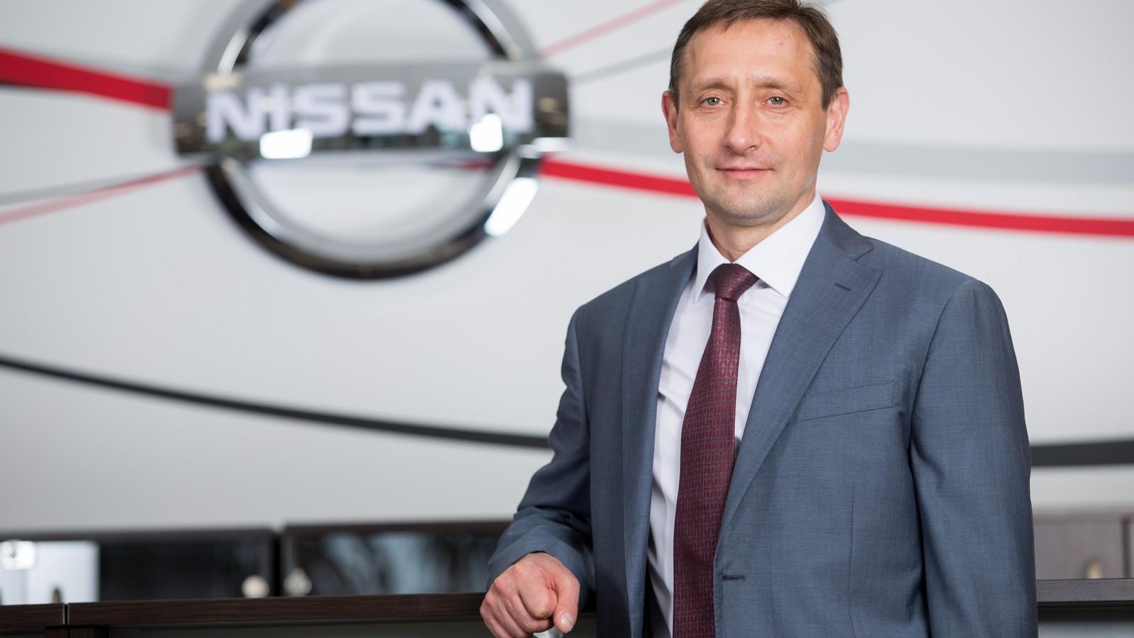 Игорь Бойцов, Вице-президент и генеральный директор завода Nissan в Санкт-Петербурге