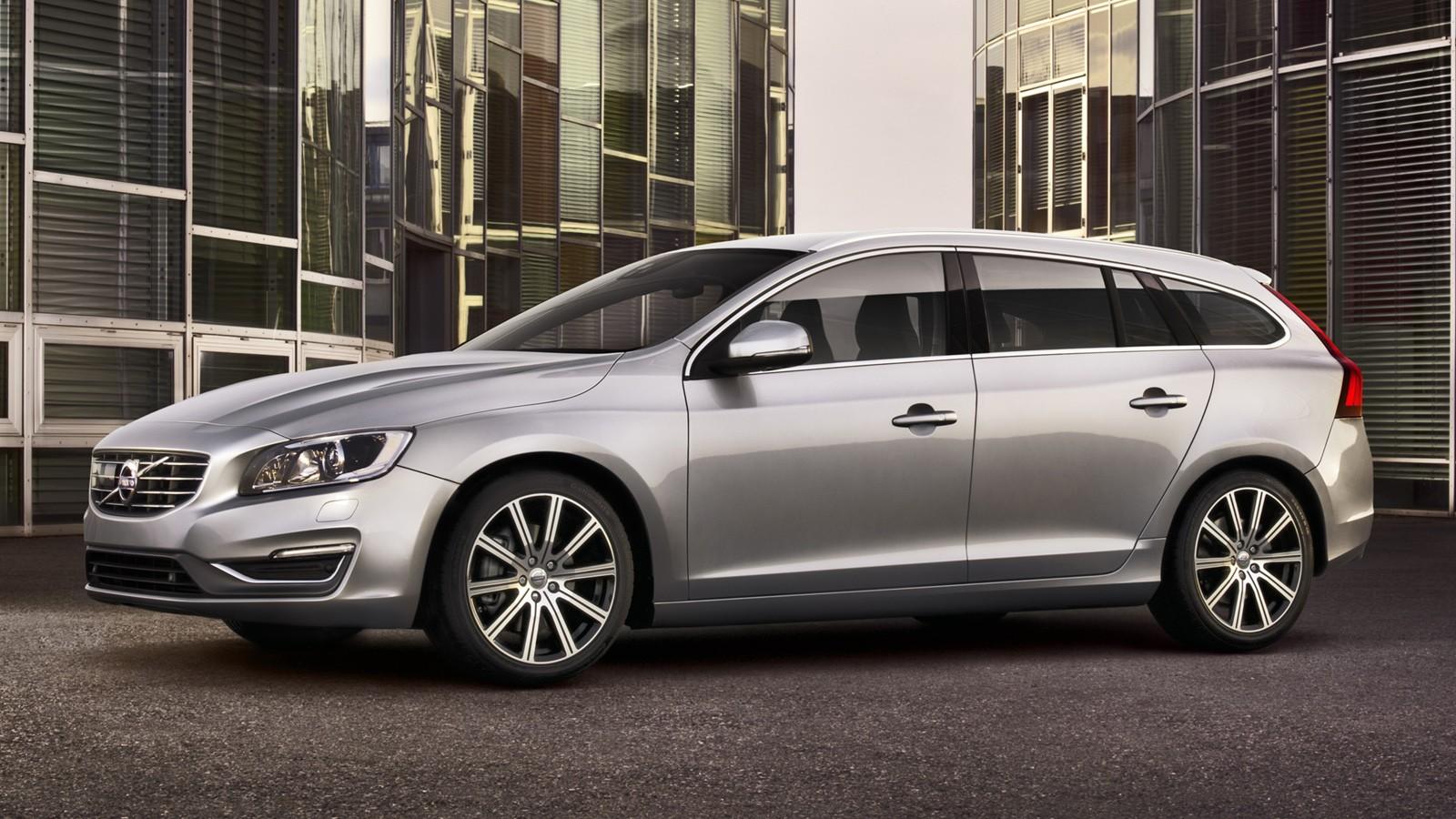 На фото: Volvo V60