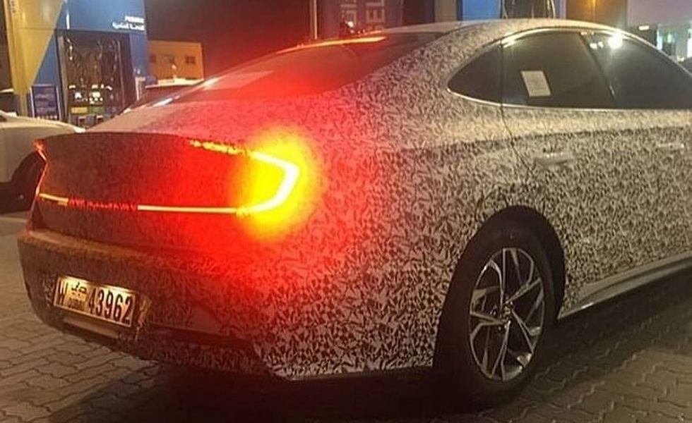 Шпионские снимки Hyundai Sonata