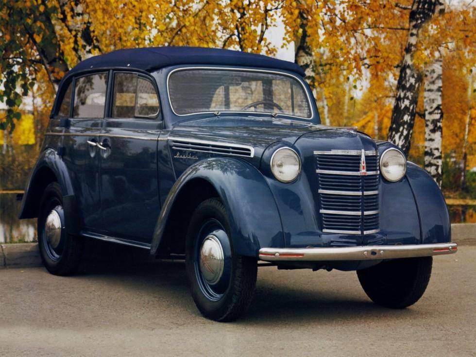 На фото: Москвич-400-420А