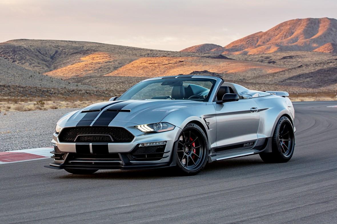 Shelby Super Snake Speedster: открытый широкофюзеляжный маслкар с 836-сильным V8