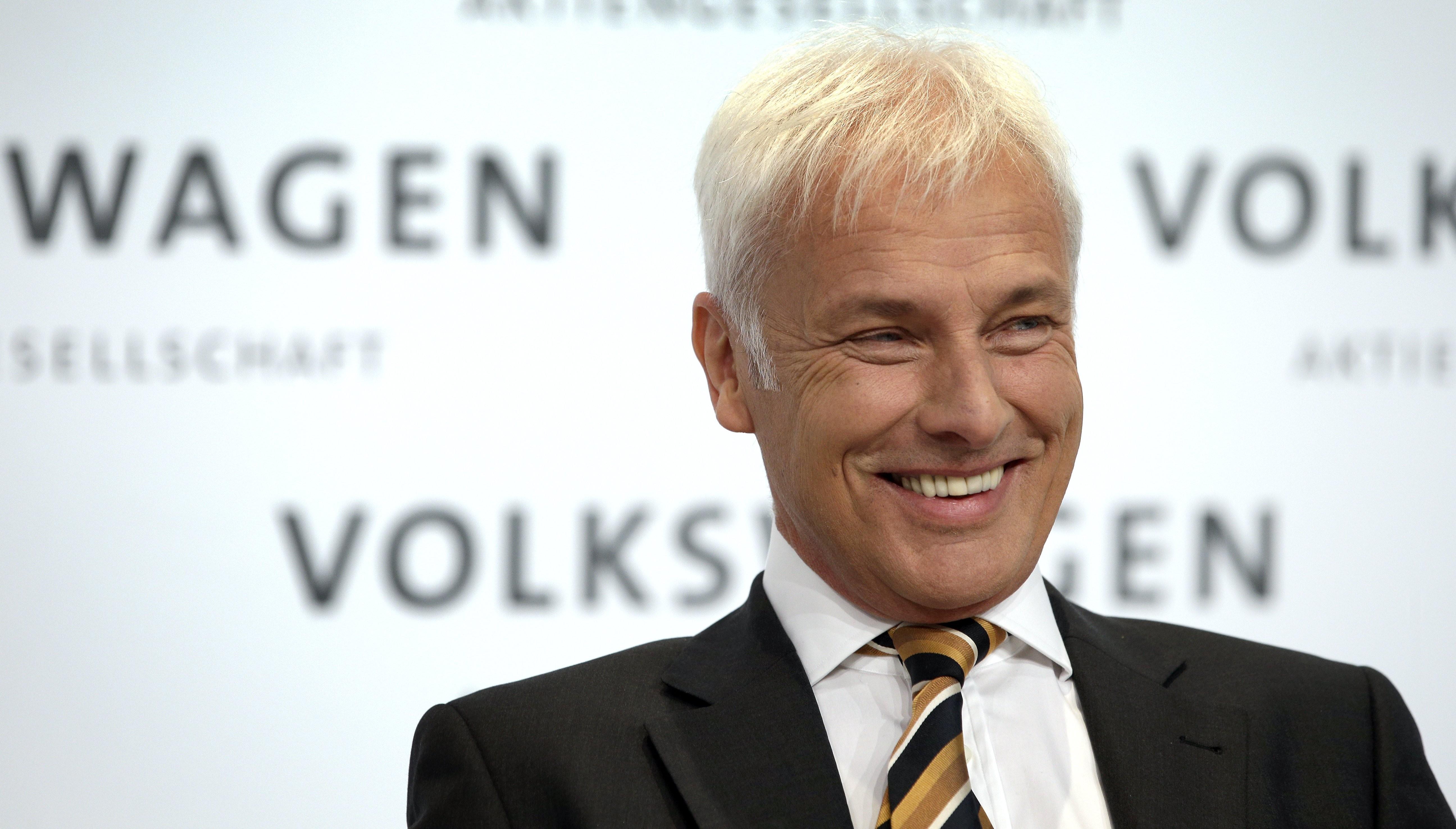 На фото: генеральный директор Volkswagen Маттиас Мюллер