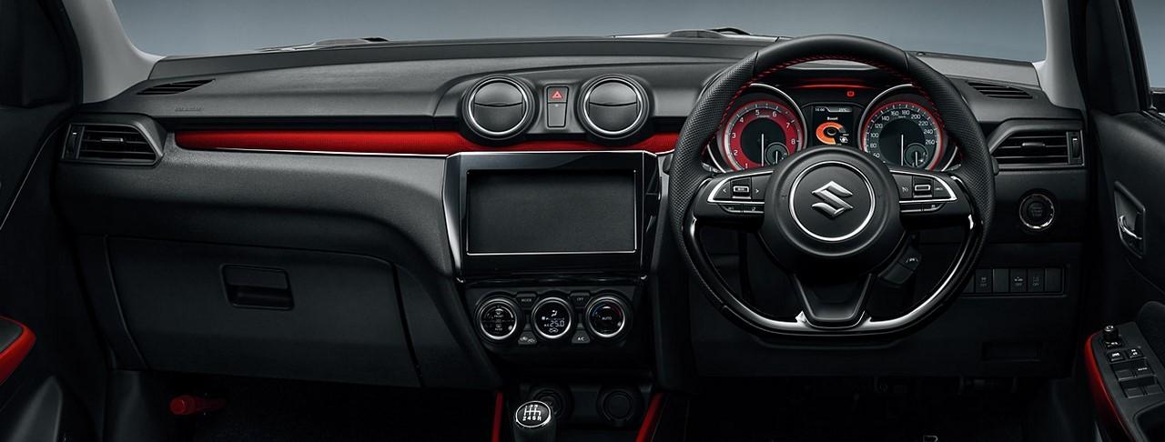 2017-Suzuki-Swift-Sport-dashboard