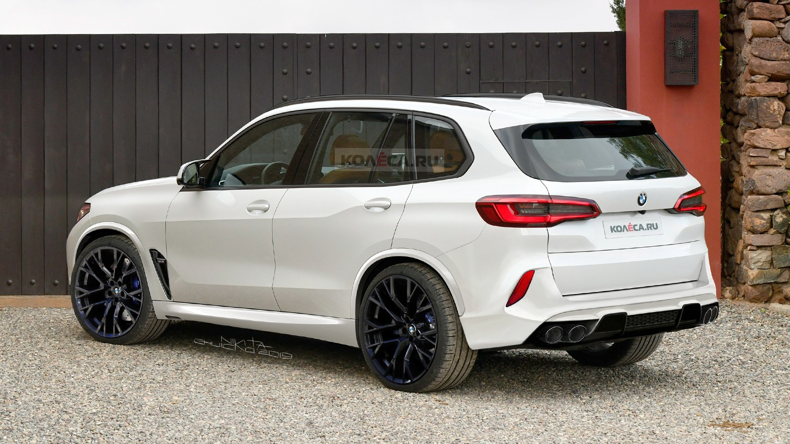 BMW X5M F95 new rear2