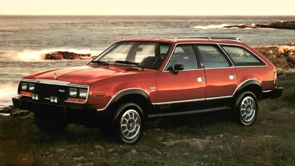 На фото: AMC Eagle Sport '1980