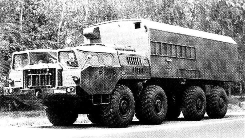 Многоцелевой 14,5-тонный кузов 2208 на шасси МАЗ-543А