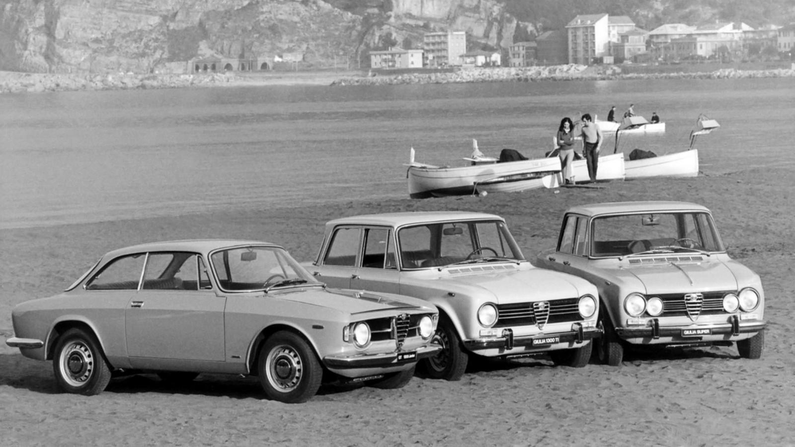 На фото: Alfa Romeo Giulia 1962–77