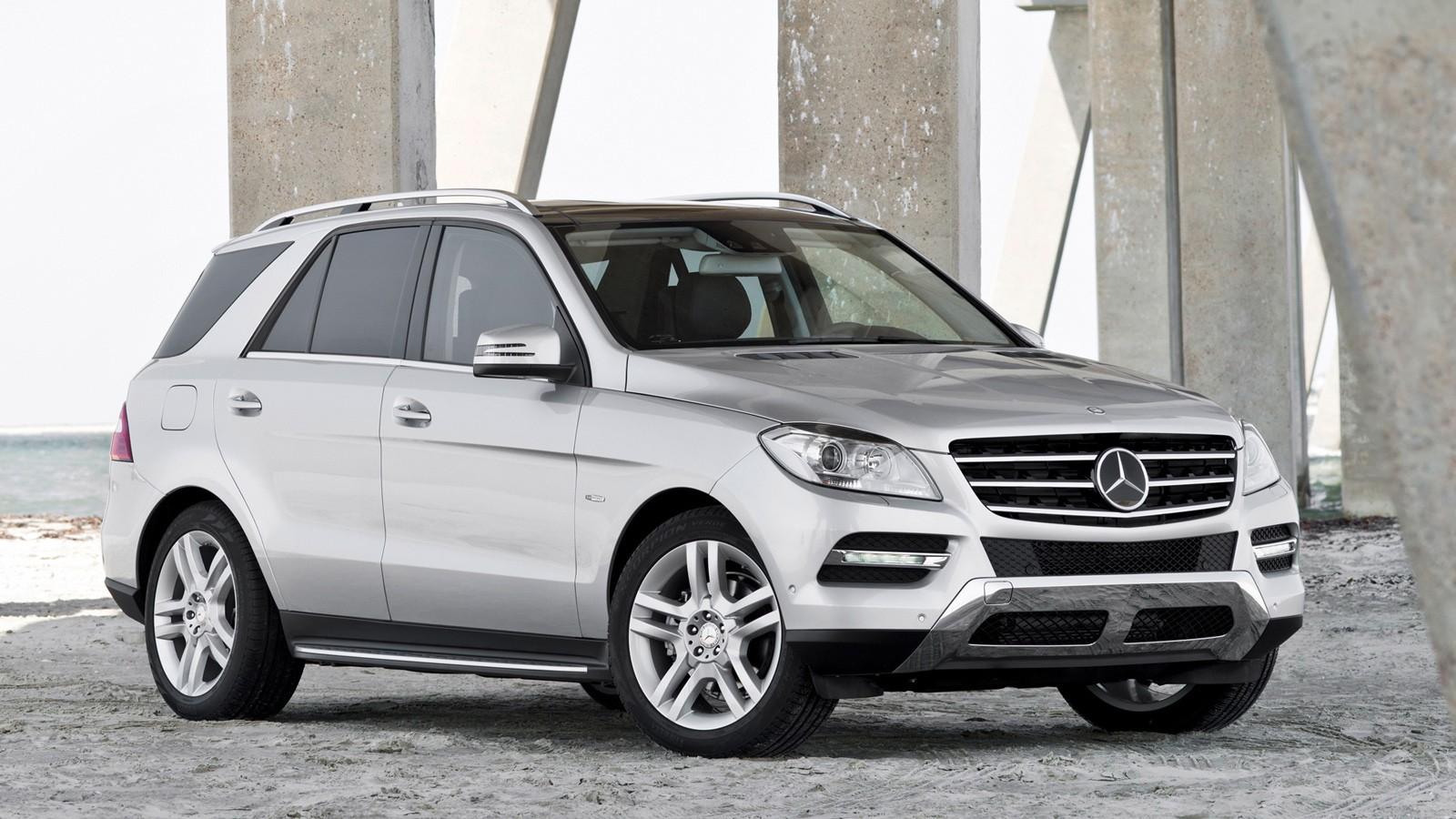 На фото: Mercedes-Benz M-Class