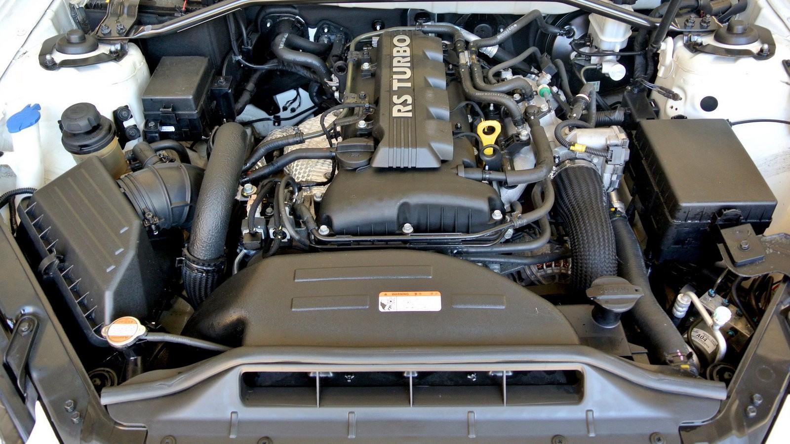 Hyundai Genesis Coupe двигатель